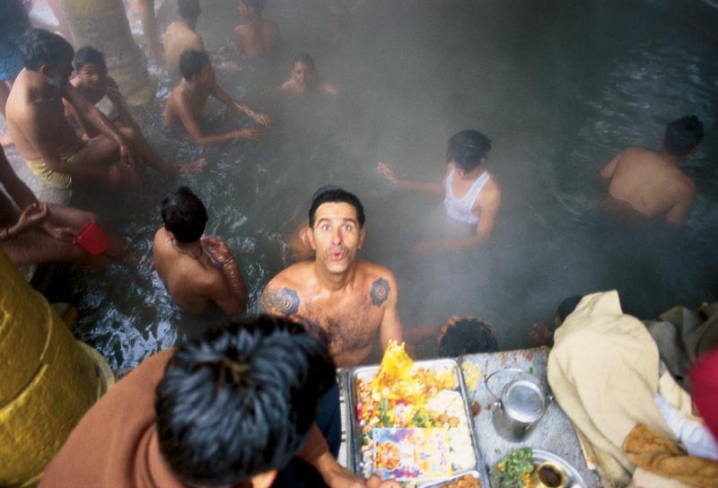Banho público; Badrinath, Índia, 2005