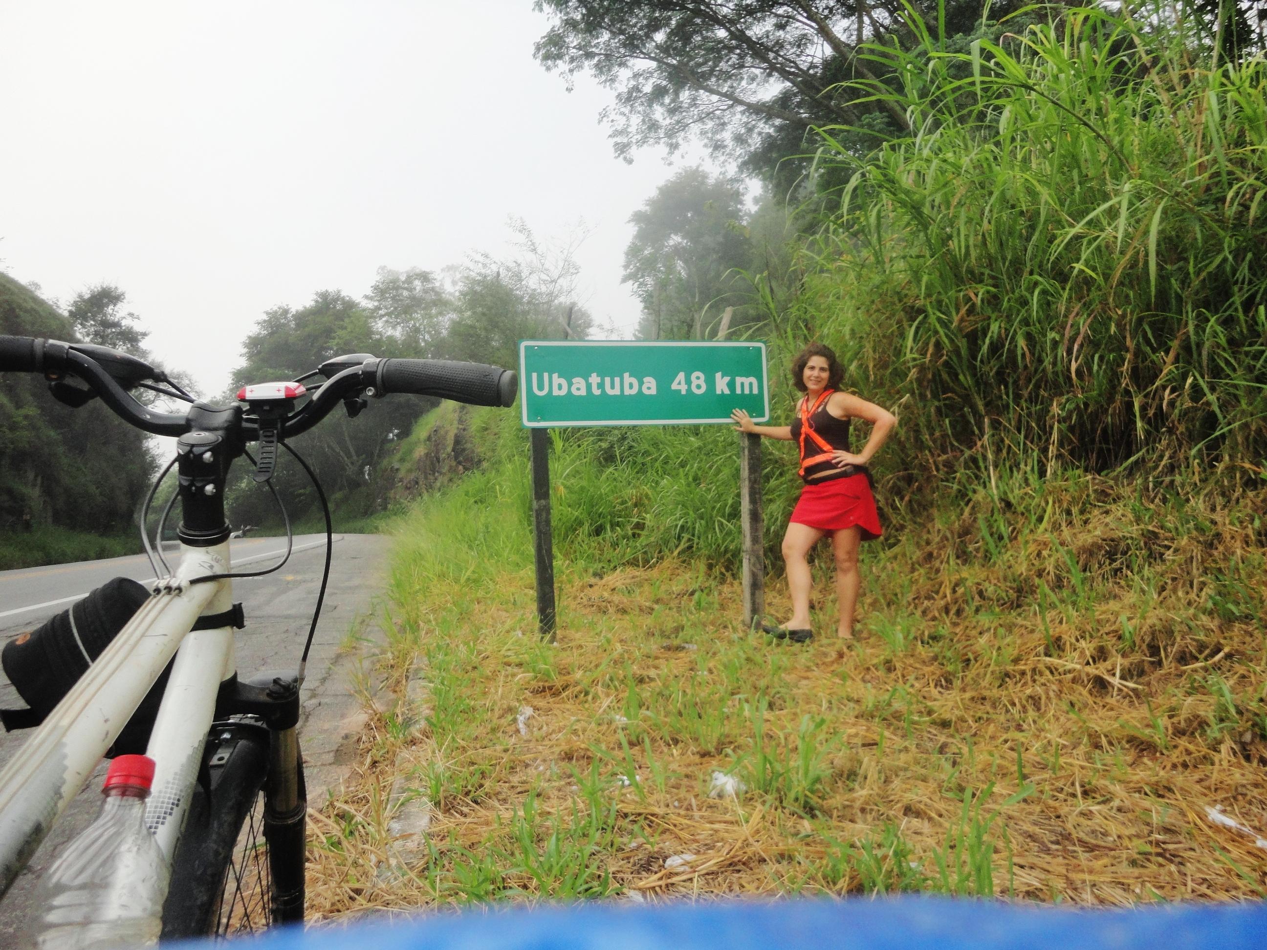 Renata indo pra Ubatuba
