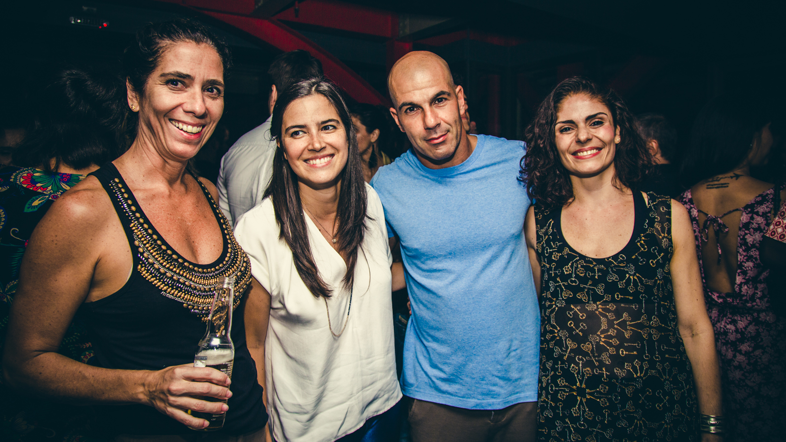 Juliana Andrade, Jéssica de Silva, Antônio Bonfá e Renata Leão