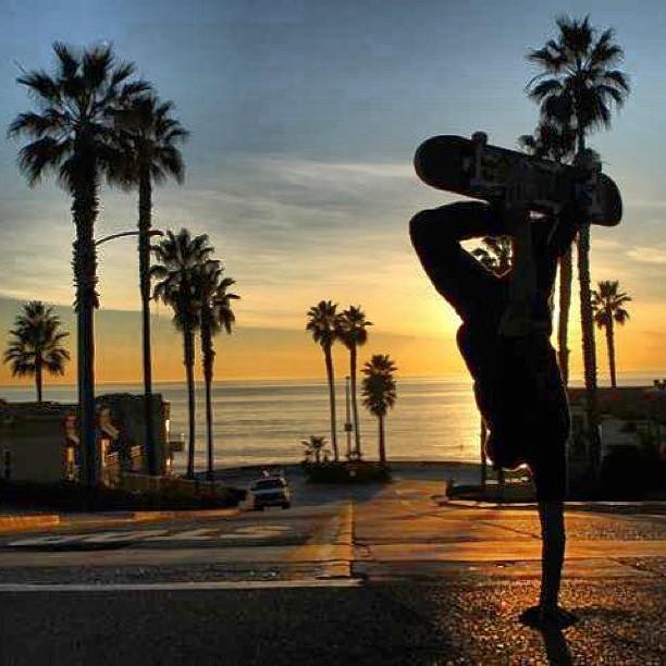 Killian Martin: handstand