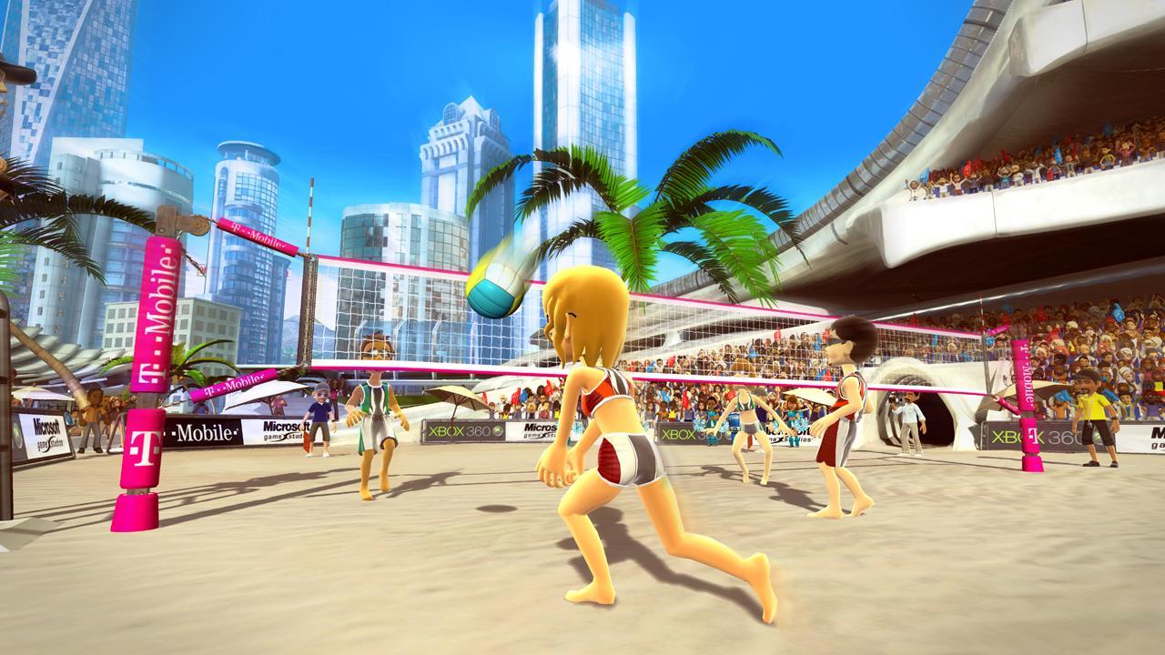 Kinect Sports: Beach Volleyball - Mais um game para não ficar parado, o vôlei de praia para Xbox com Kinect pede um pouco mais que os movimentos simples do Wii. Durante o jogo é preciso fazer várias posições comuns no esporte, como a recepção, o saque, o levantamento e o ataque. Dá até para suar na brincadeira, mas a água do mar vai faltar.