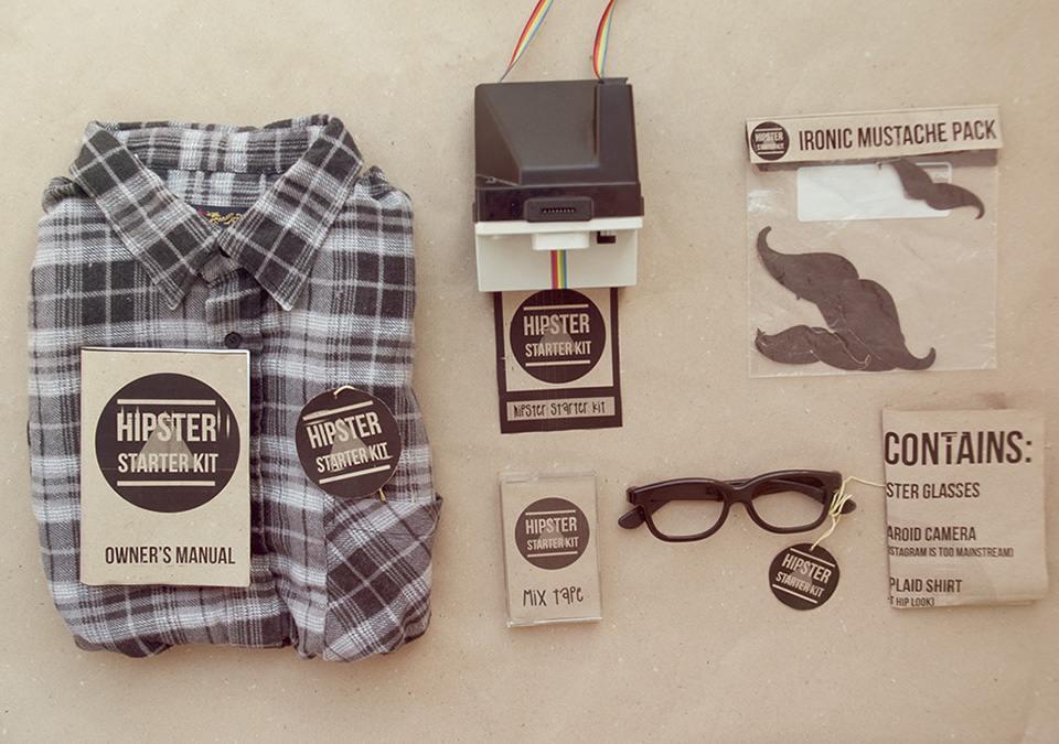 Kit hipster para iniciantes