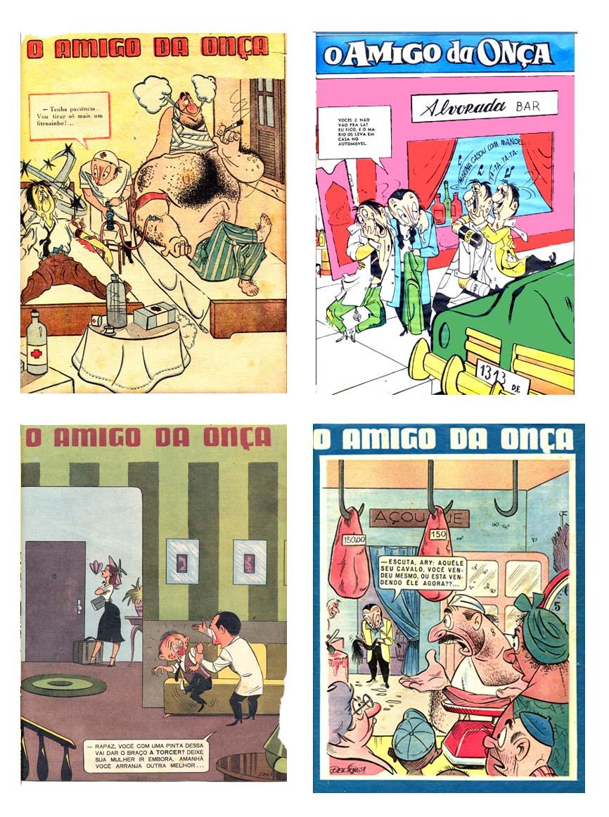 O Amigo da Onça na revista O Cruzeiro
