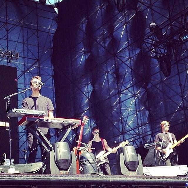 Silva no palco