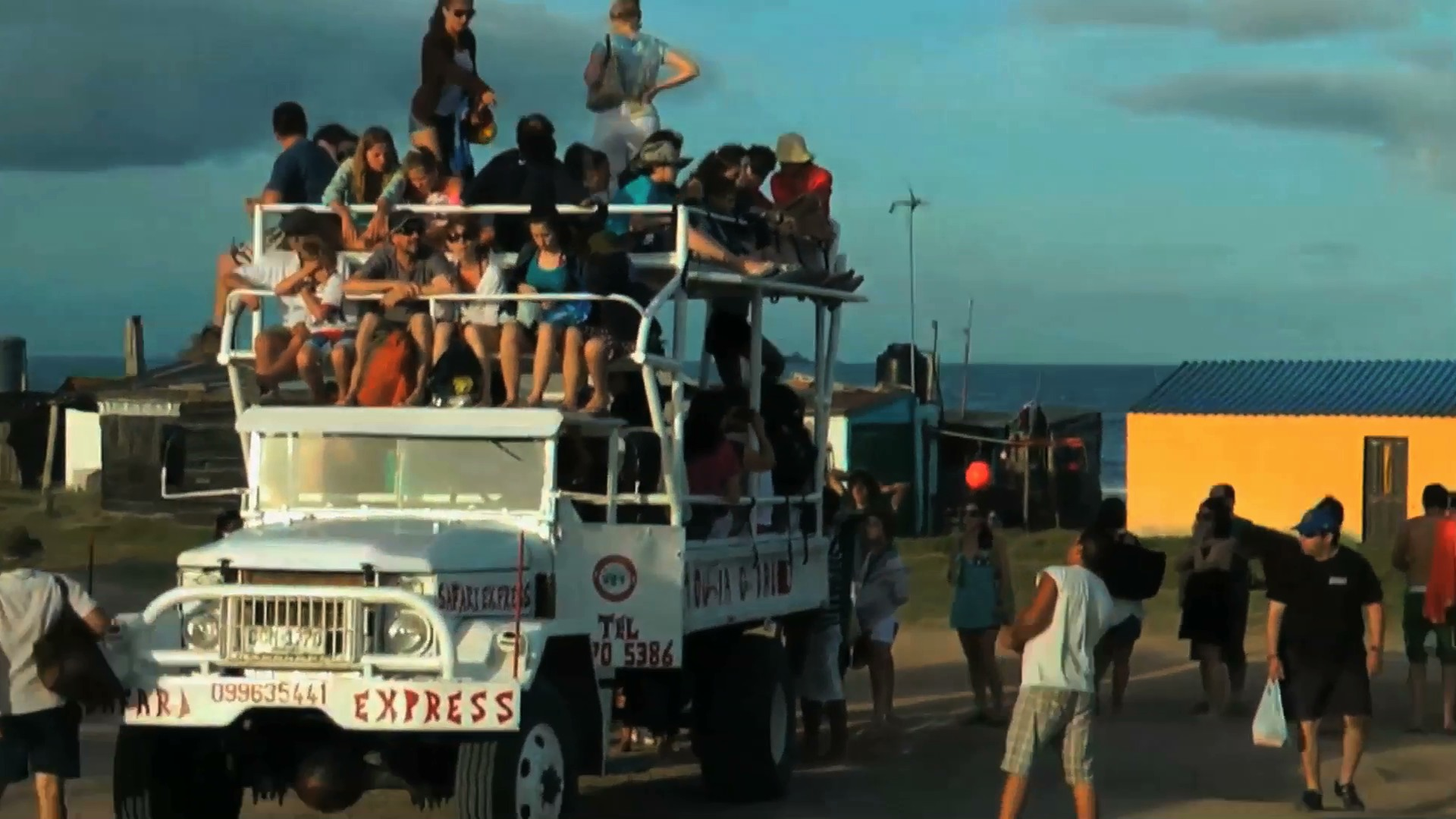 O Mamute, caminhão que leva os turistas até o Cabo
