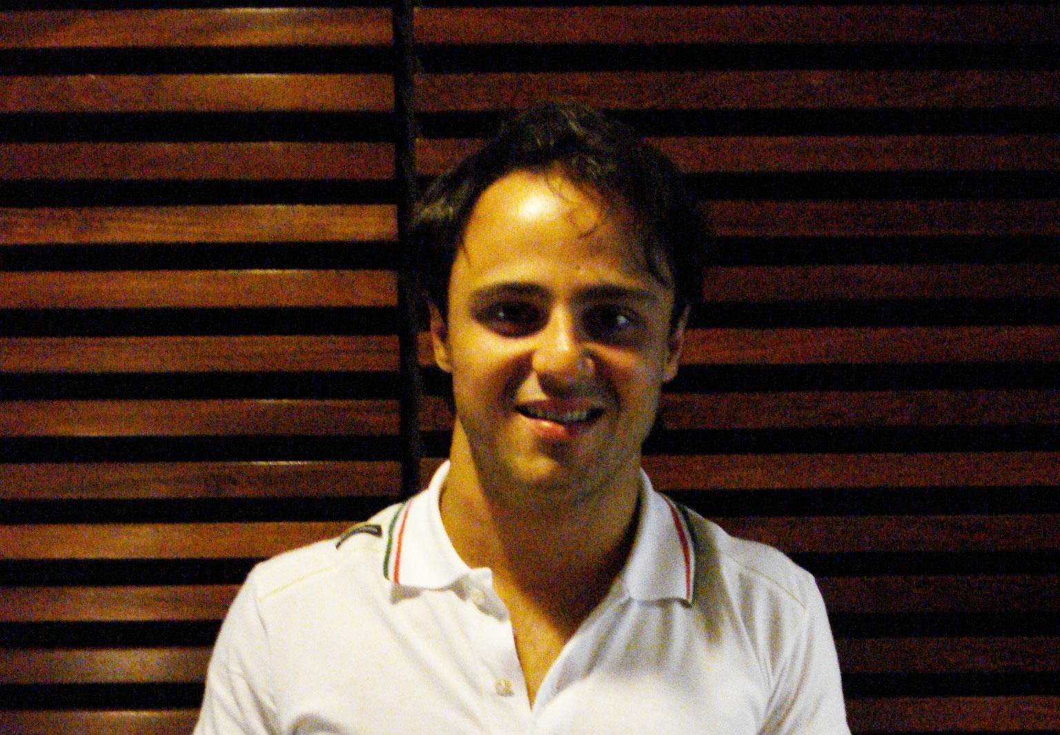 Felipe Massa e o perigo