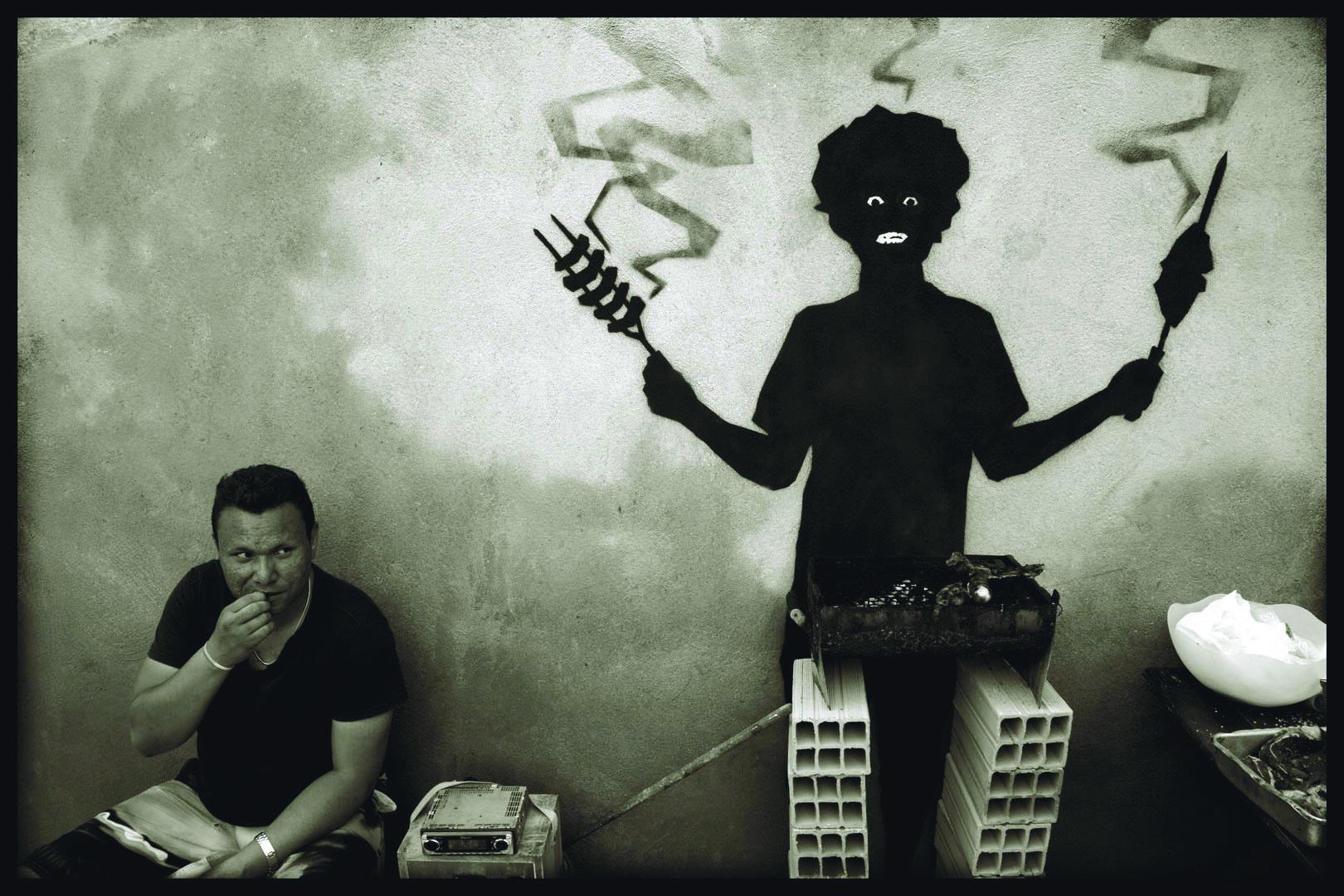 O Projeto Metabiótica de Orion tinha  o objetivo de captar a interação das pessoas  com os desenhos nas paredes da cidade.