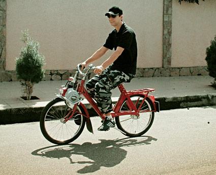 Motor que dá pedal