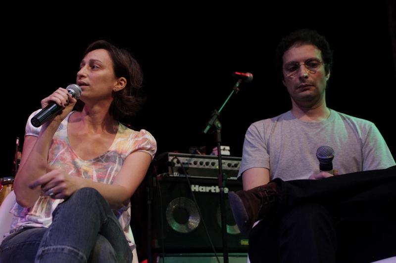 Laís Bodanzky e Carlos Nader no Festival Trip de Política
