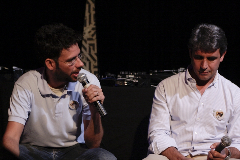 Fernando Luna e Luiz Felipe D'Ávila