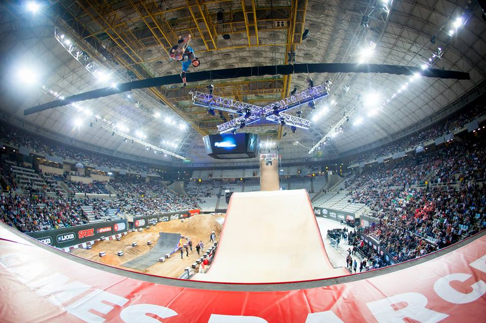 O vertiginoso big air dos X-Games