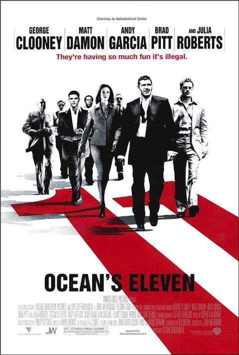 Poster oficial de Onze Homens e um Segredo (2001)