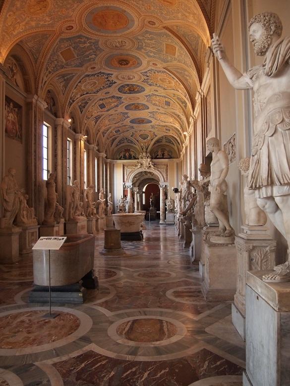 Uma tour de exploração no Musei Vaticani, Basílica de São Pedro e na Capela Sistina