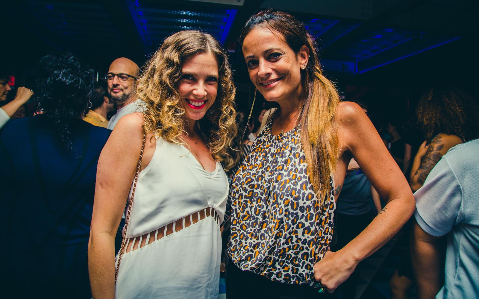 Patrícia Barros e Adriana Verani