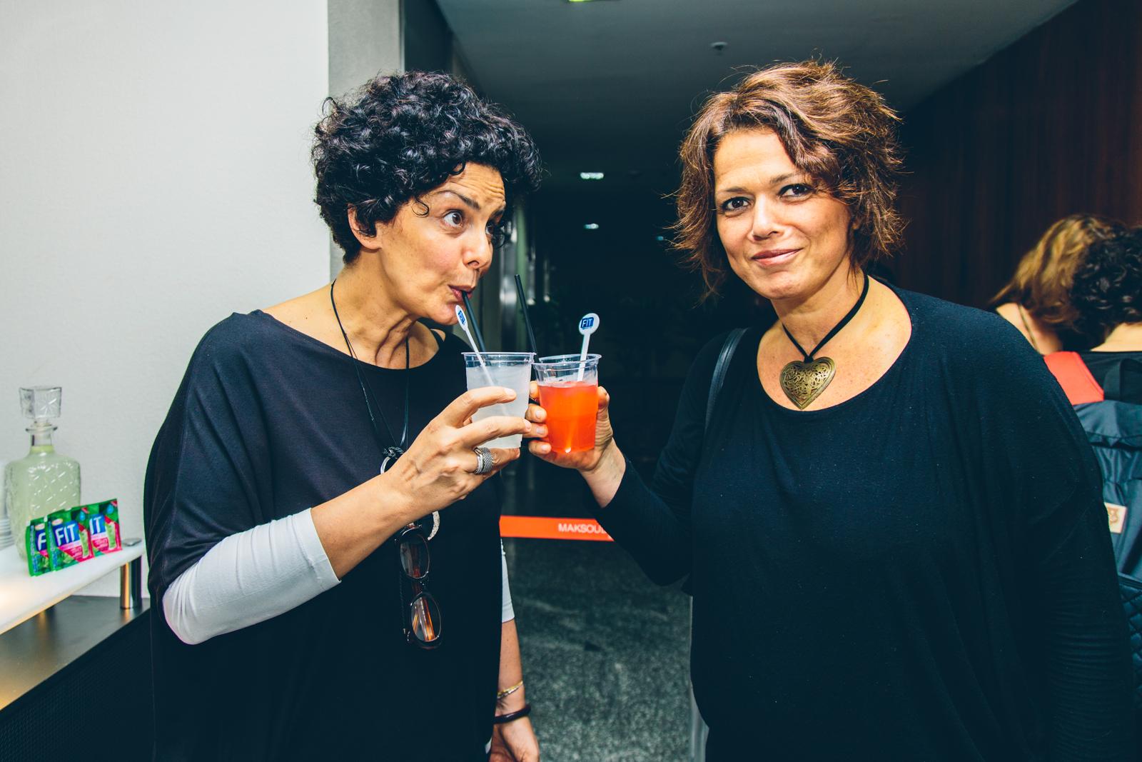 Paula Trabussi e Patrícia Weiss