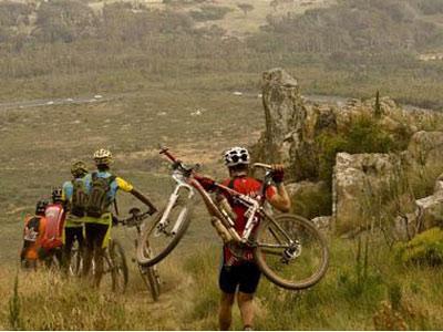 Pedal na montanha