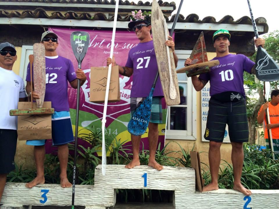 Podium Master: 1o Alex Araujo; 2o Totó; 3o Felipe Gama