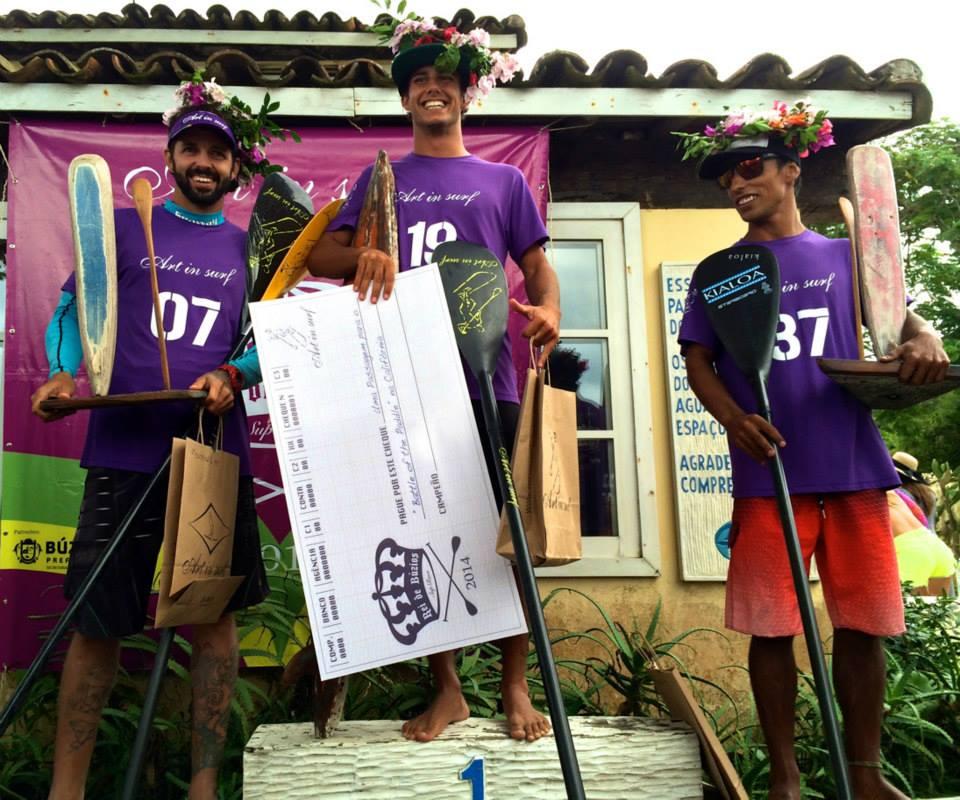 Podium Open :1o Vinnicius; 2o Marinho e 3o Gabriel Vilarinho