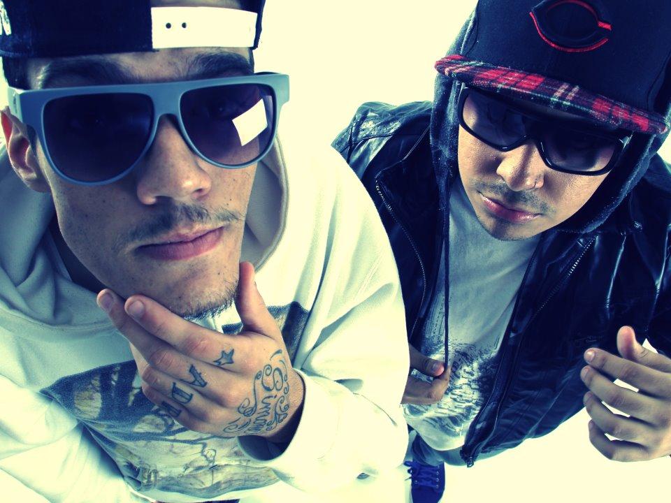 Pollo, grupo de hip hop que incorporou elementos estéticos do funk ostentação