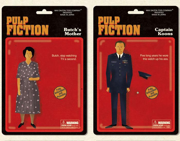 Bonequinhos do Pulp Fiction