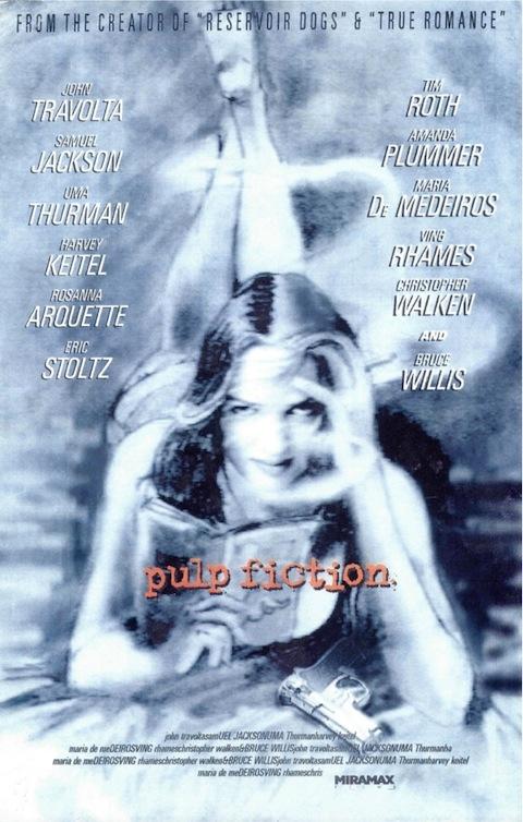 Poster rejeitado de Pulp Fiction (1994)