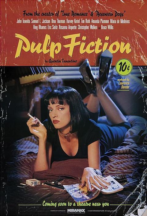 Poster oficial de Pulp Fiction (1994)