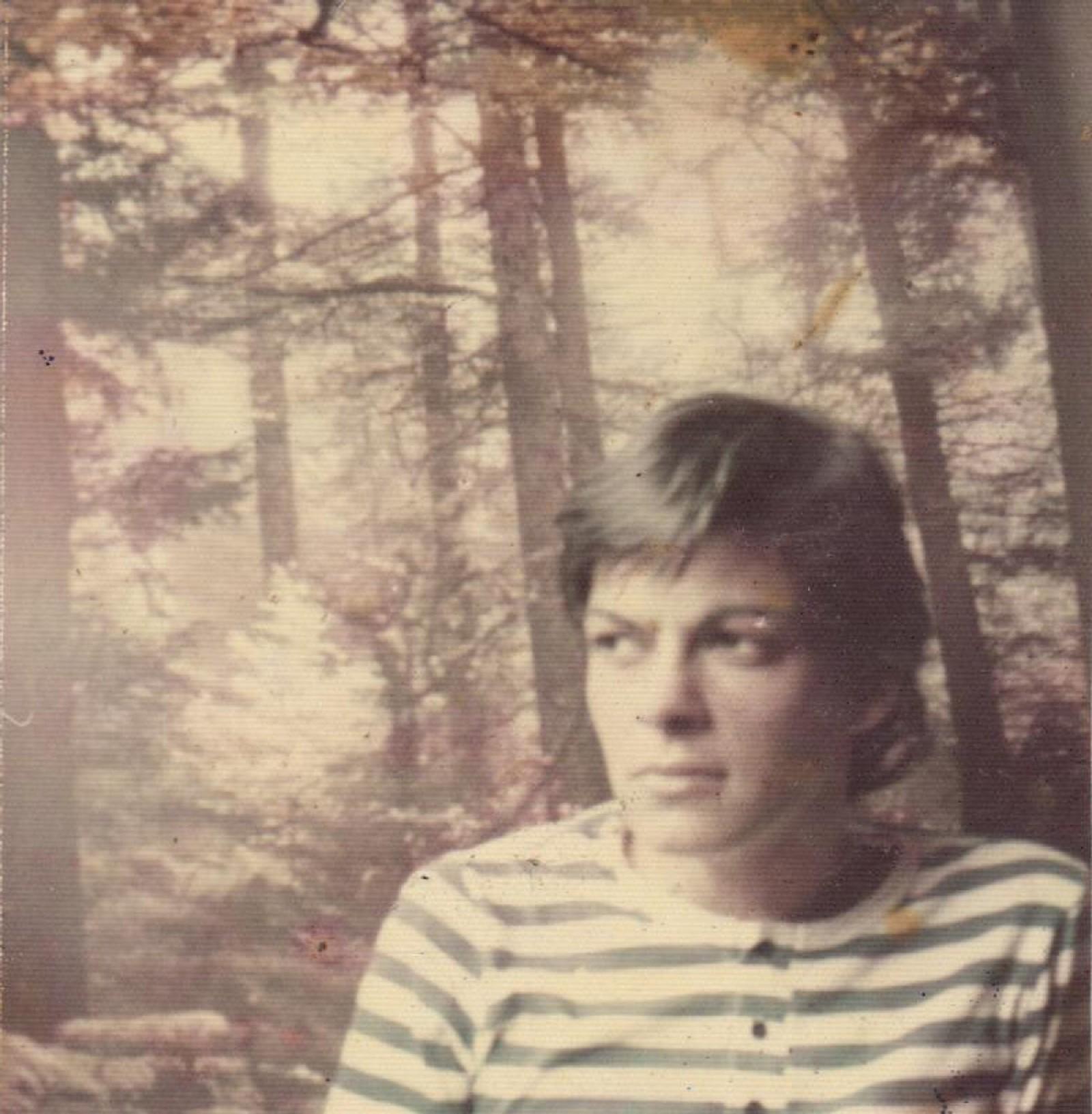 Joana em 1968, com 18 anos