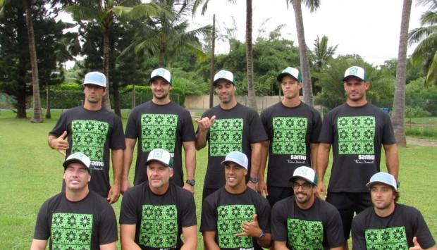 Pausa para a foto do Samu Team Brazil