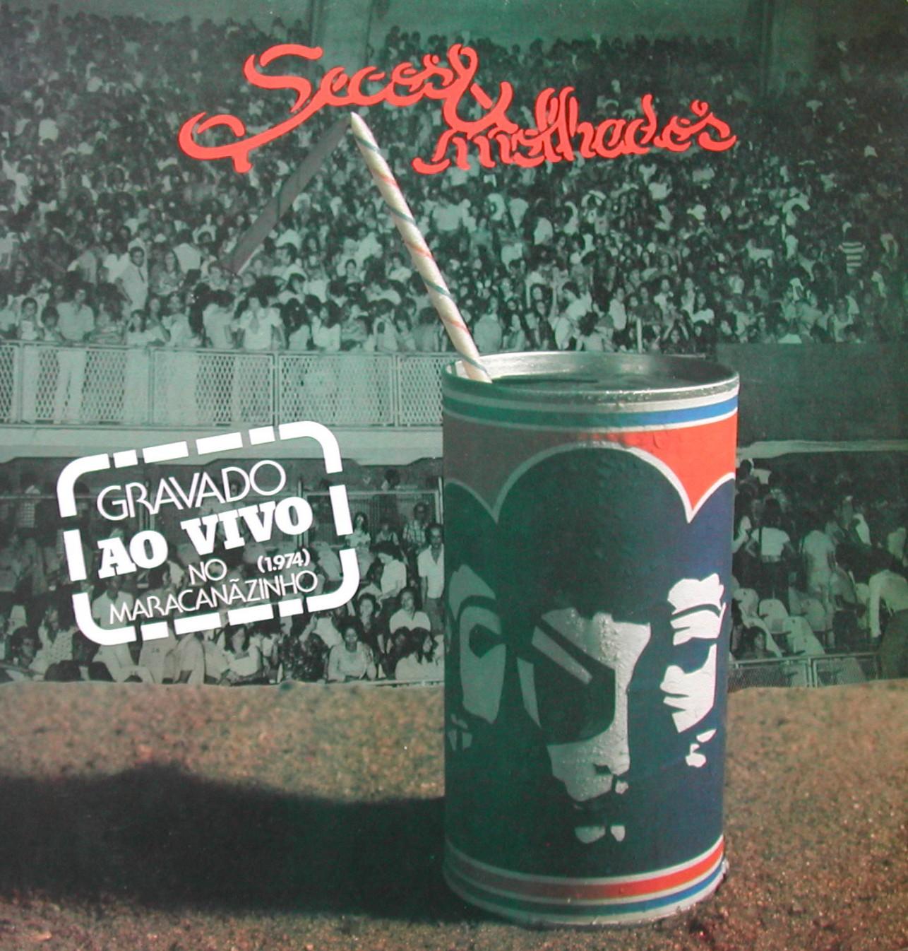 Capa do disco do show gravado no Maracanãzinho
