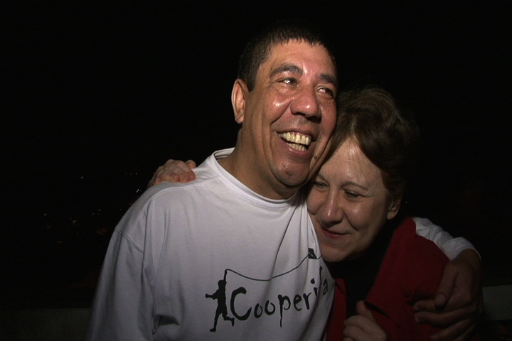 Lia Diskin e Sérgio Vaz
