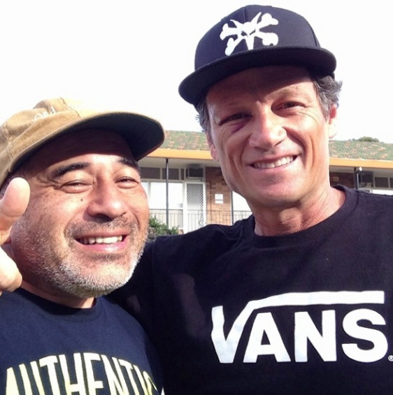 Steve Cabalero e Mike-McGill
