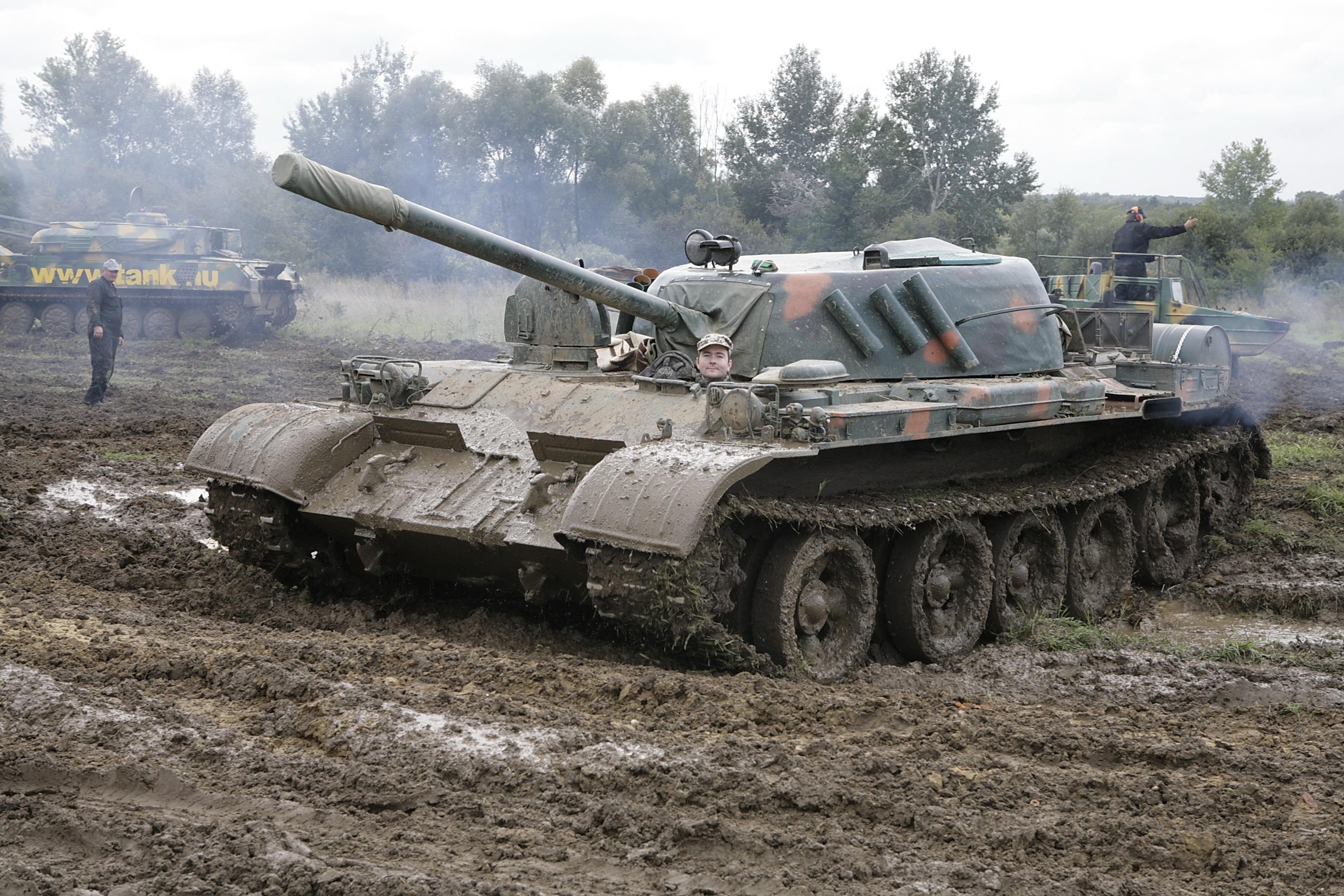 T-55A, o tanque favorito de Milan Hasznics