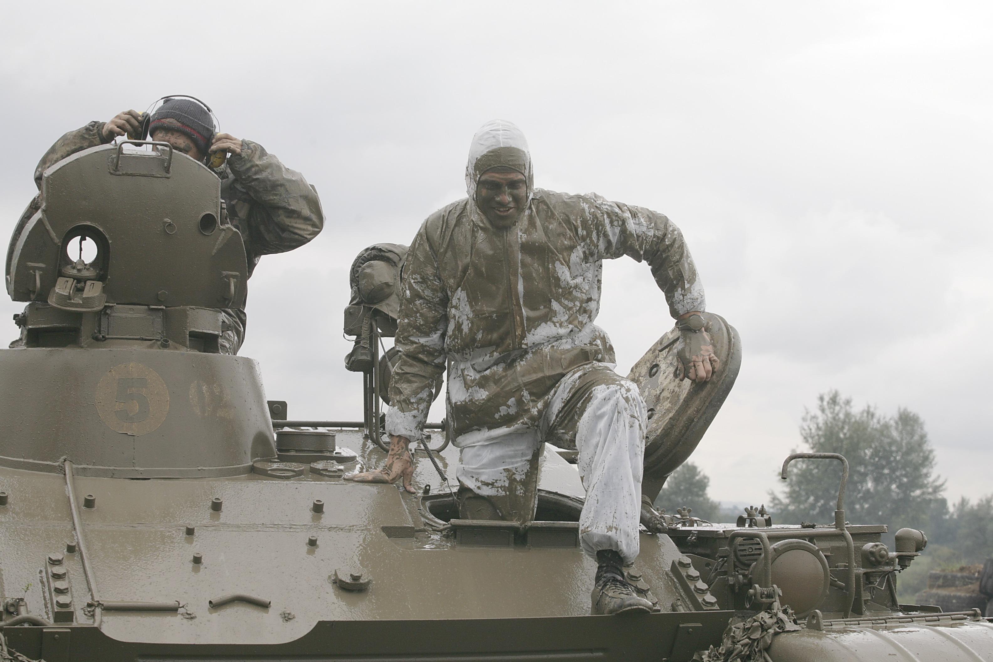 Após uma bateria com T-55 blindado