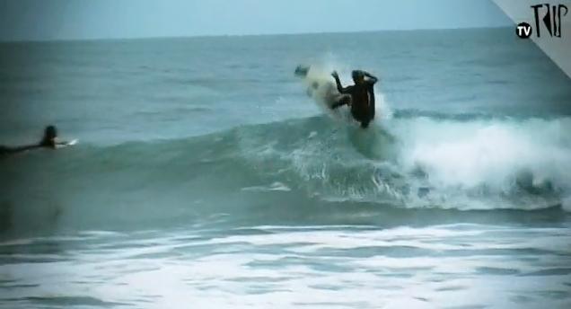 Técnicos do surf
