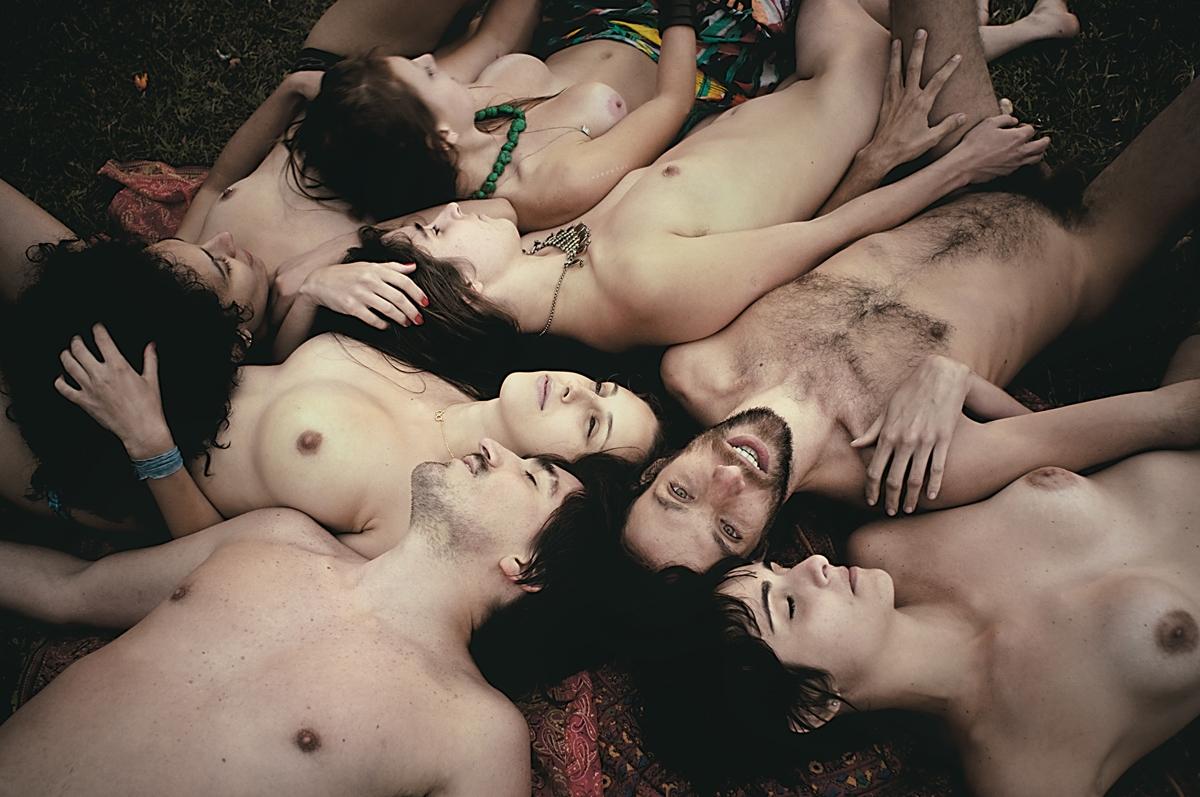 Bela, Renata, Marcela, Anne, Alfredo, Fran e Luiz
