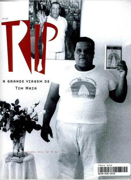 Tim Maia na capa da Trip #94