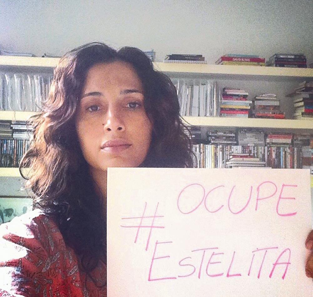 Rio de Janeiro/11h: A atriz Camila Pitanga posta apoio ao movimento Ocupe Estelita em seu Instagram