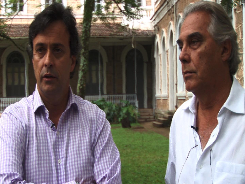 Rubem César e  Marcelo de Andrade