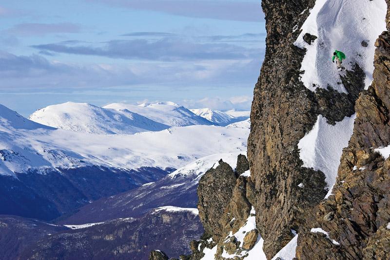 O americano Andrew Crawford encara a morte em Ushuaia (Argentina)