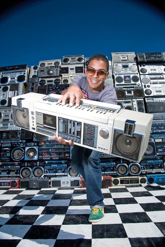Rico, 36 rádios, agregou a galera do coletivo B.Box Original