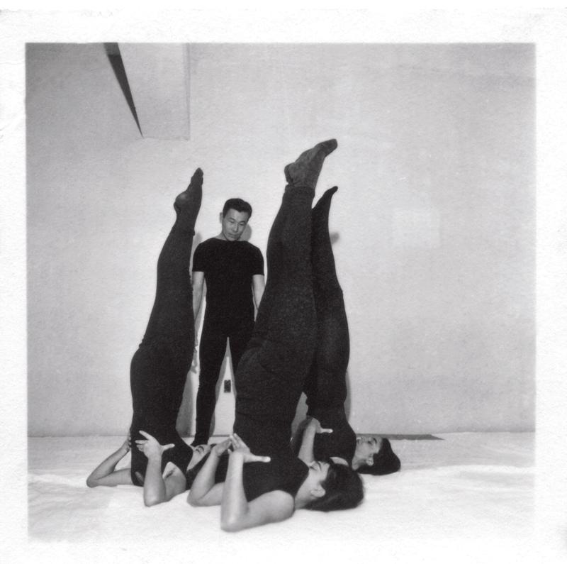Shimada em 1960, no quadro de ioga que apresentava na TV Tupi