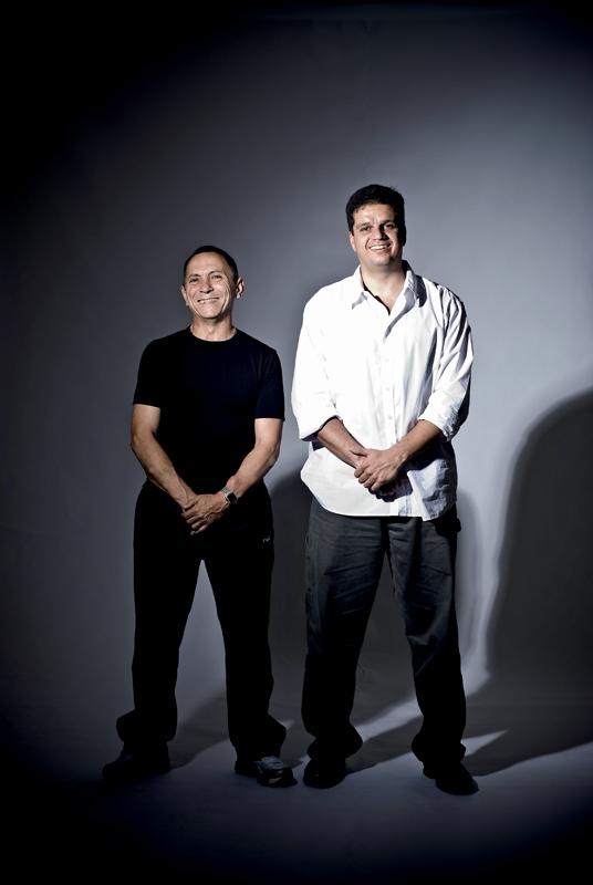 Luiz Alberto Mendes e Rodrigo Pimentel