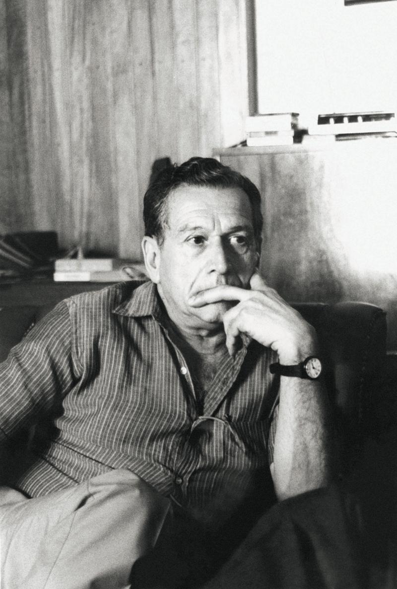 Fernando Sabino, em foto de 1989 para o JT