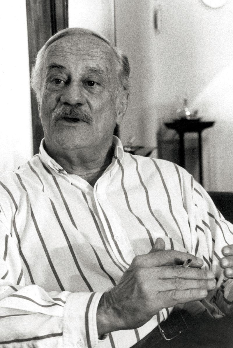 Cliques do estilista para o Jornal da Tarde: Paulo Autran (1988)