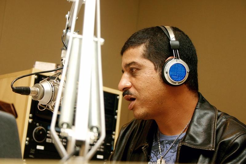 Nuno Mendes, um dos que comandam o Espaço Rap
