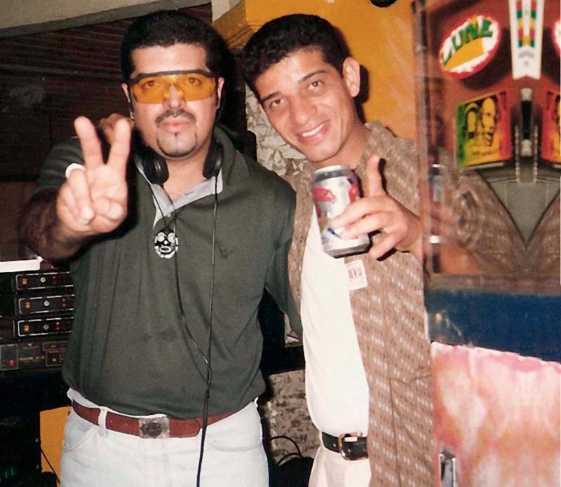 Nuno com DJ Hum