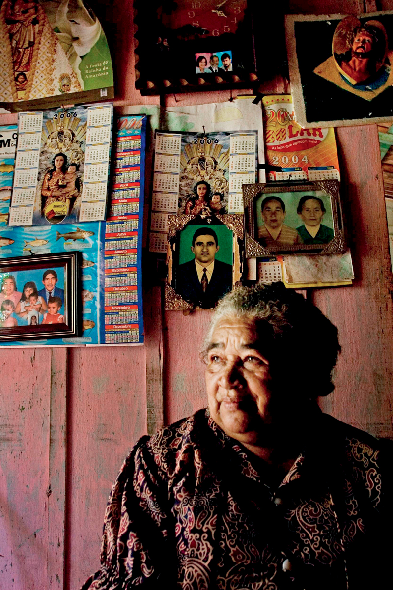 Raimunda, uma das primeiras mulheres a entrar no garimpo