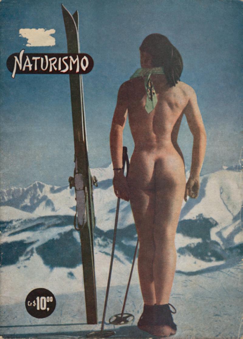 Capa de Naturismo, título lançado no Brasil em 1952