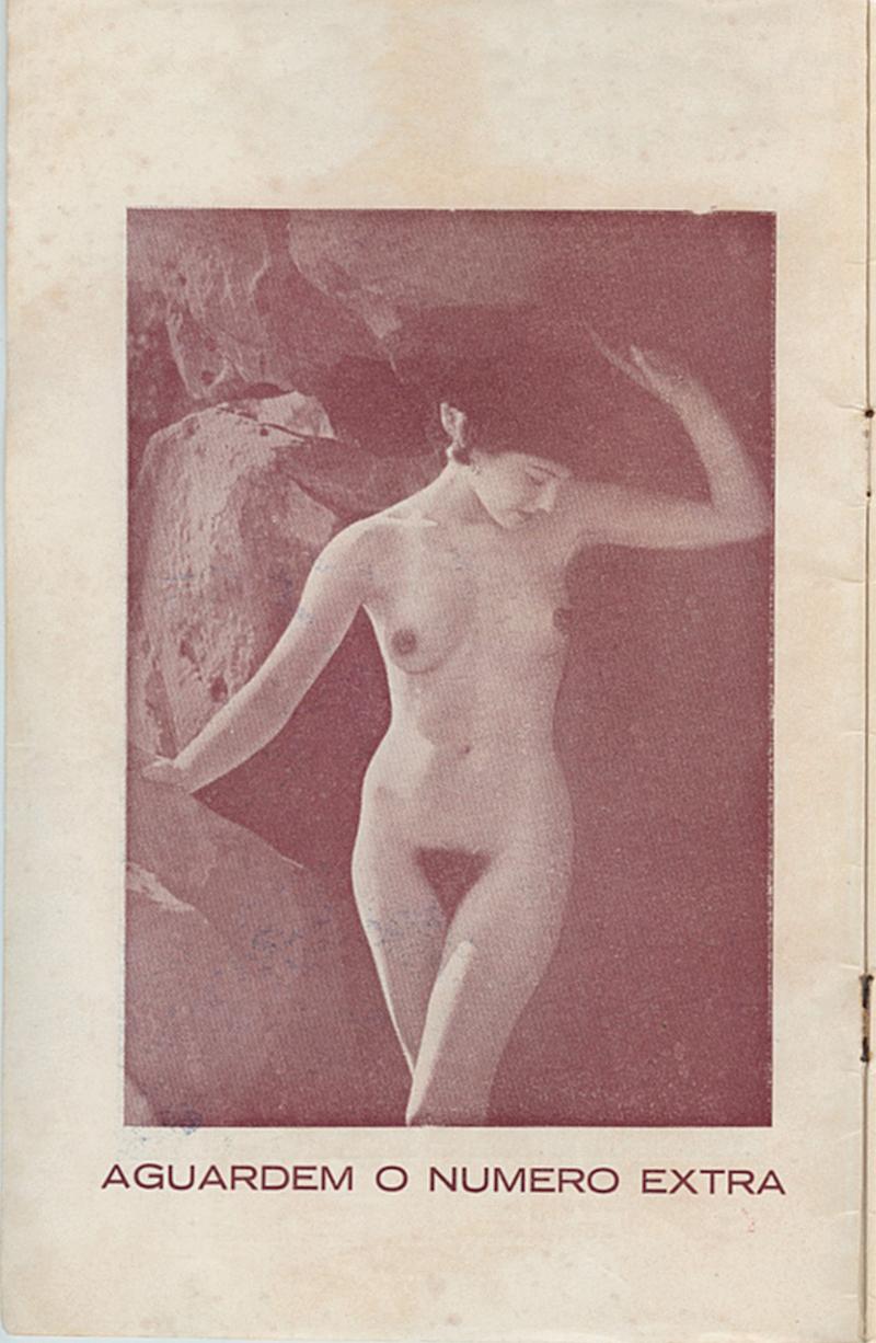 Nesta galeria, reproduções das revistas brasileiras de nudismo dos anos 50. Nas fotos, eram sempre os gringos a tirar a roupa