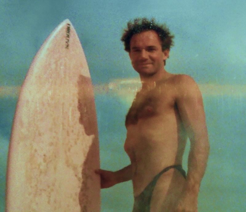 Peter já gostava de uma tanguinha nos anos 70